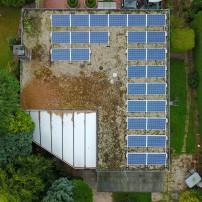 Inspectiefoto's voor zonnepanelen
